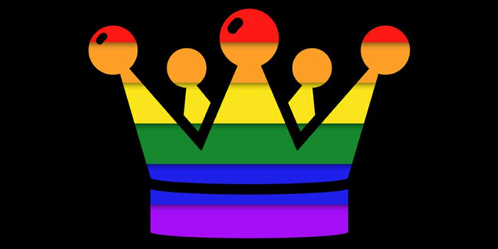 rainbow prom king