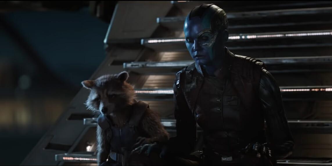 Image result for avengers endgame nebula