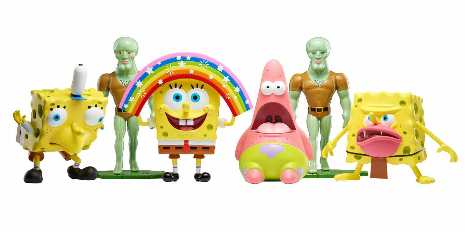 Nickelodeon is selling spongebob toys based on popular memes