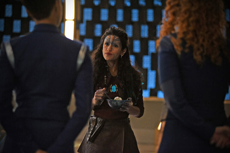 star trek discovery queen po