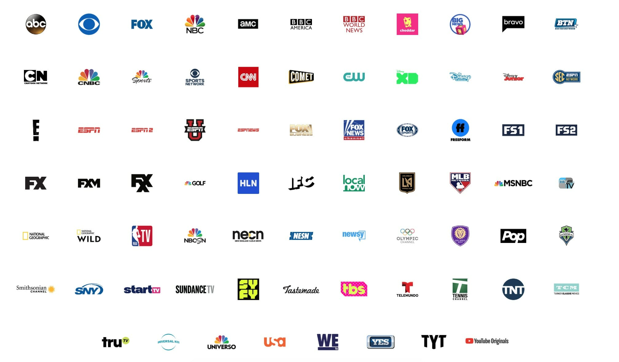 watch tcm youtube tv channels