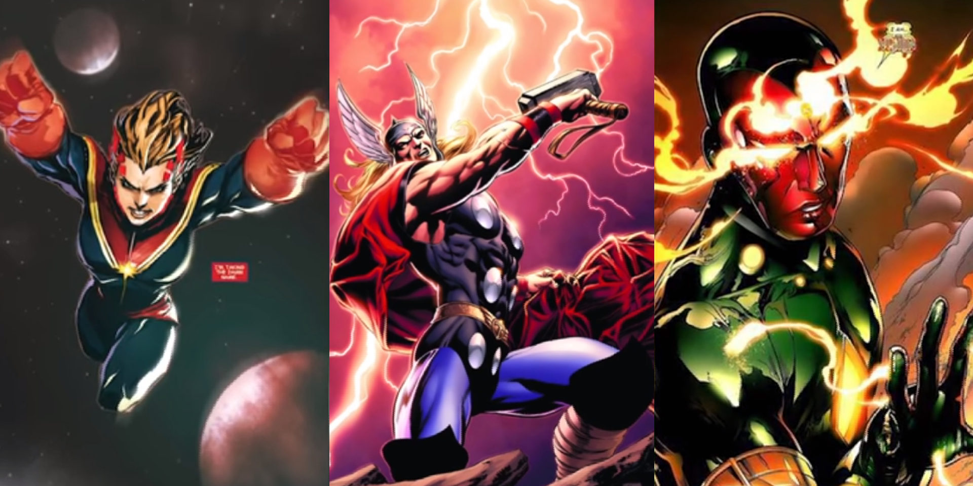 These powerhouse Marvel heroes pack serious punch