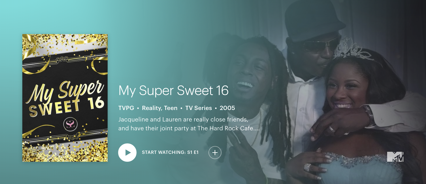 how to stream my super sweet 16 on Hulu