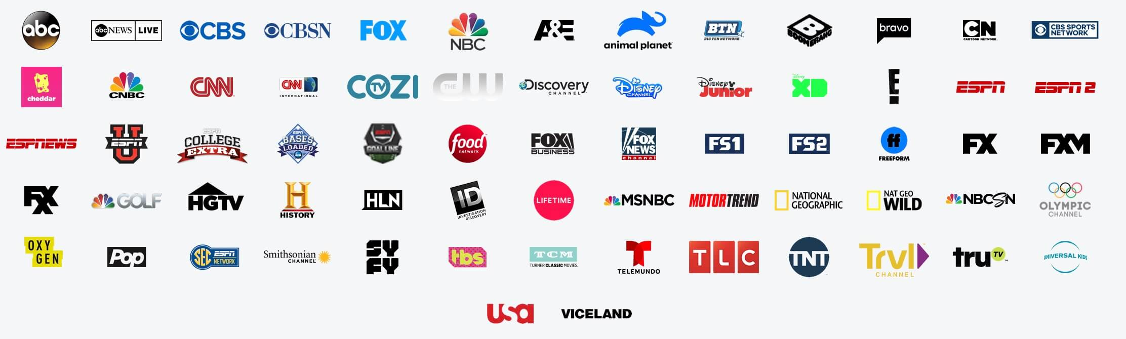 Hulu with Live TV channels