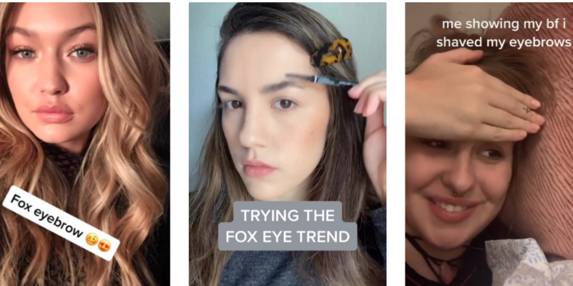 TikTok teens are shaving off their eyebrows to 'look like' Kendall Jenner, Bella Hadid