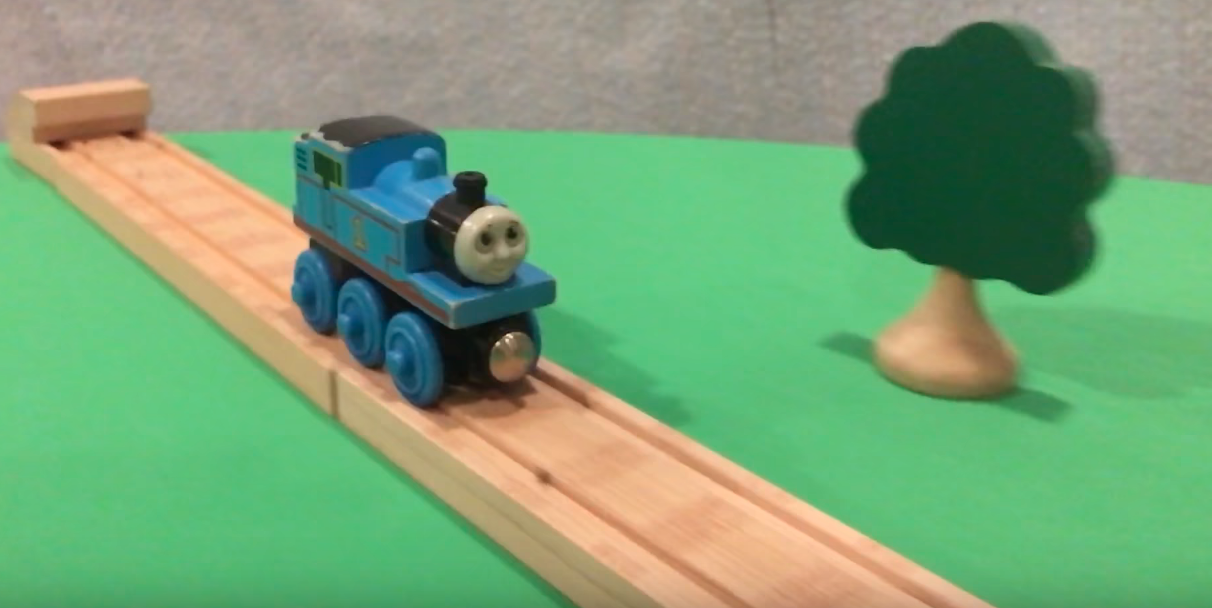 Wooden Thomas The Tank Engine Stunt Video Exploding On Youtube
