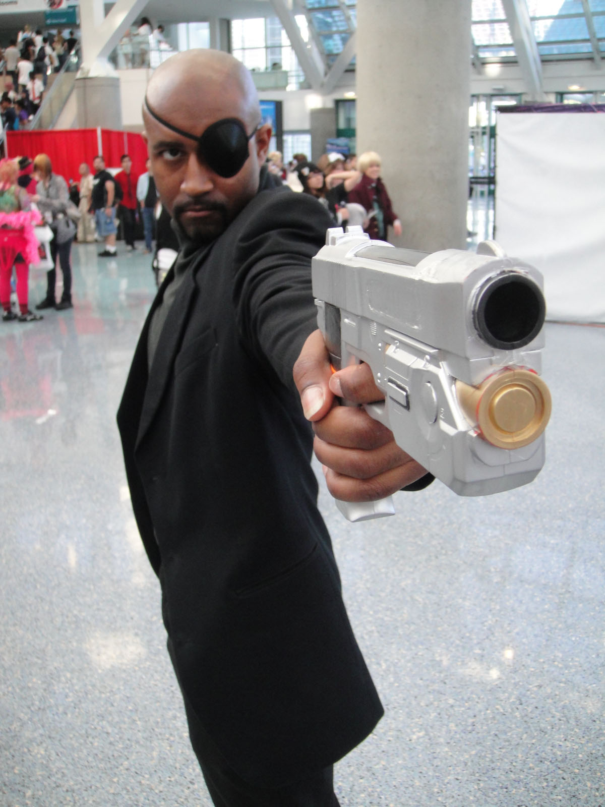 Nick Fury from the Ultimates Avengers
