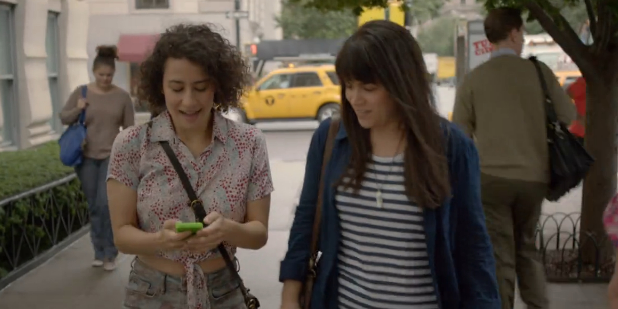 Ilana Glazer and Abbi Jacobson in Broad City