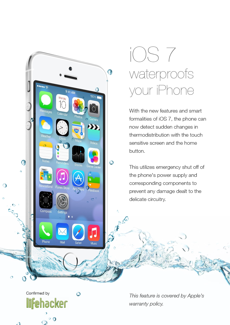 4chan's fake iOS 7 ads convince users to dunk phones in