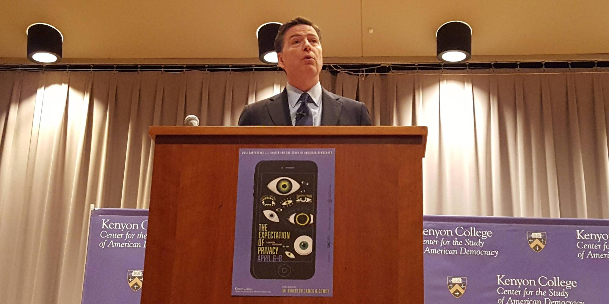 James Comey Kenyon Conference