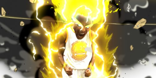 Stephen Curry Super Saiyan