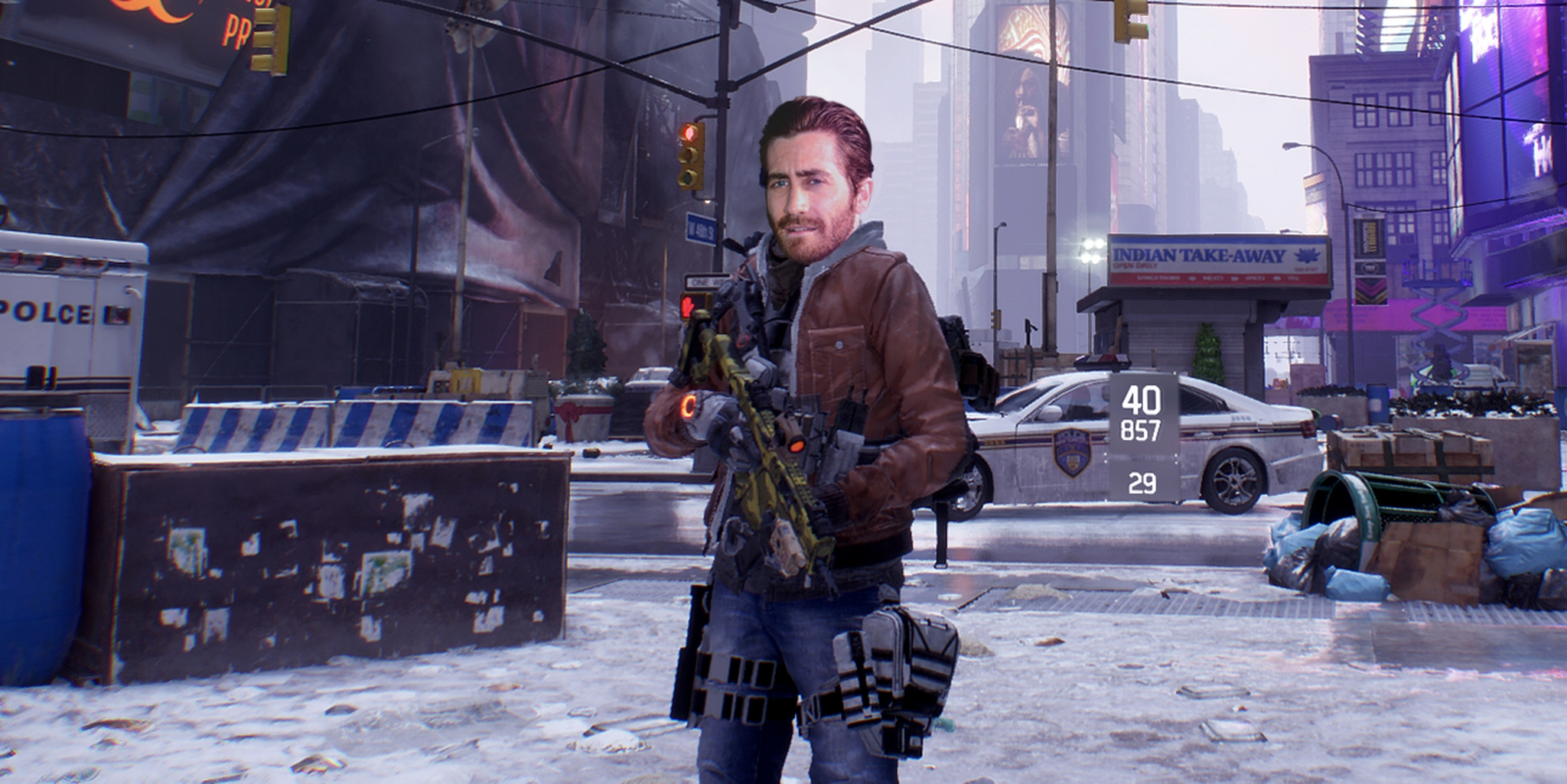 Jake Gyllenhaal in the Division