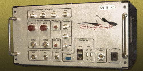 Stingray II cell site phone unit