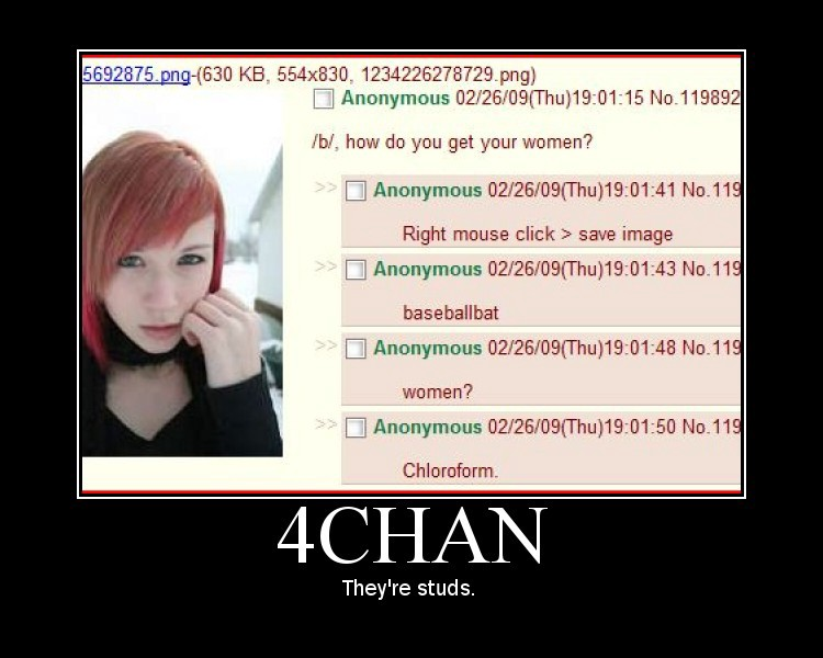 An early 4chan meme made from a screenshot of 4chan.
