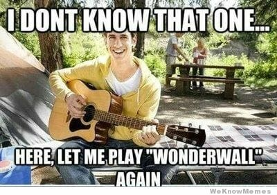 Funny Rock Music Meme : Anyway here s wonderwall facts about the oasis meme that won t die