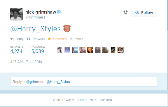 Twitter harry styles