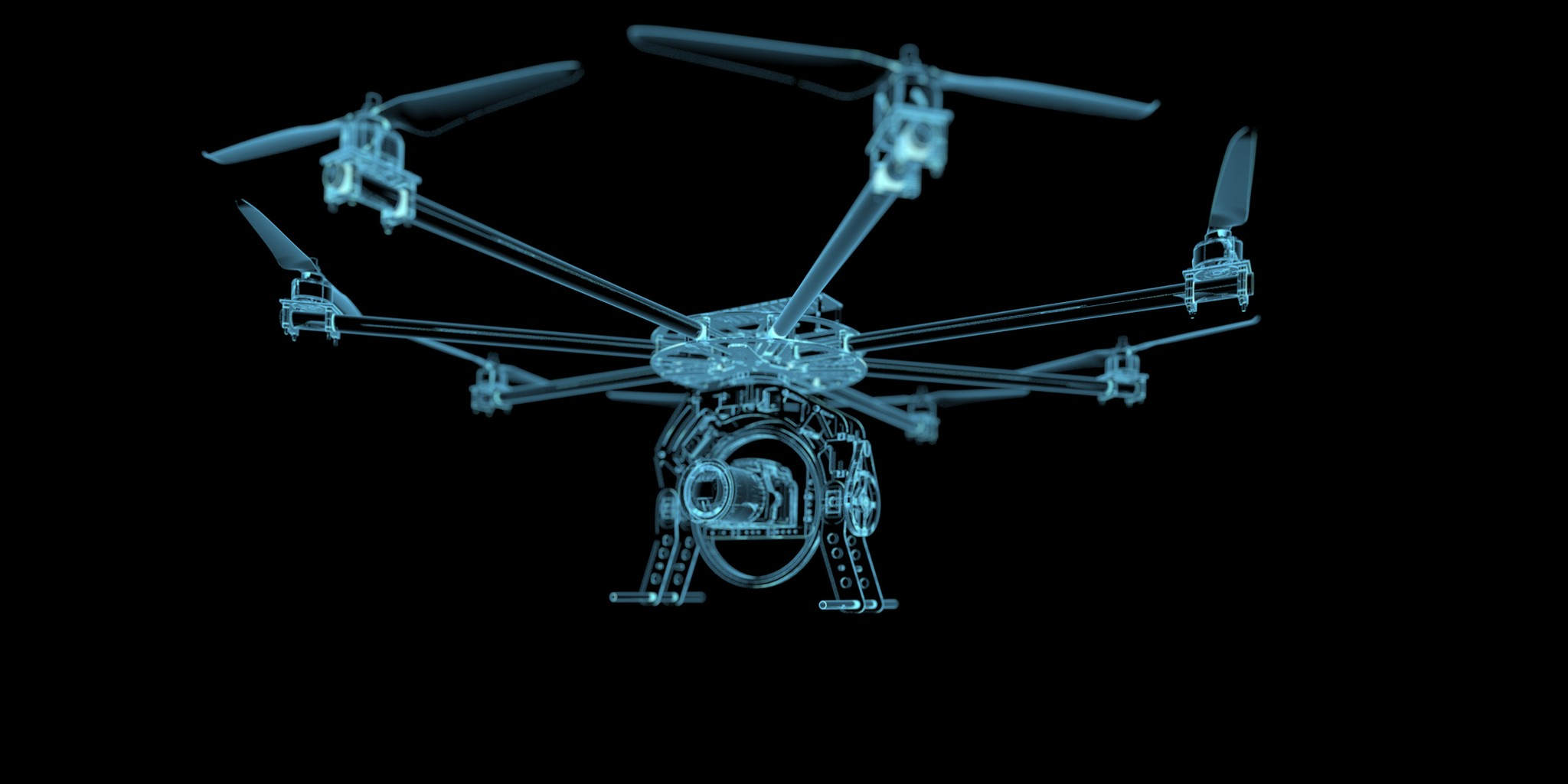 Drone x-ray image