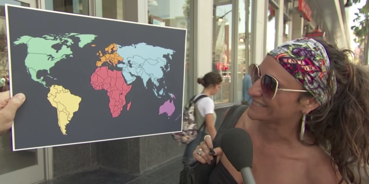 Jimmy Kimmel Proves Americans Cant Find North Korea On A Map - Us Trying To Find North Korea On Map