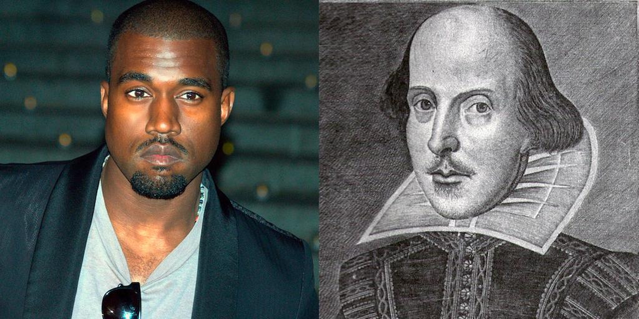 kanye and shakespeare