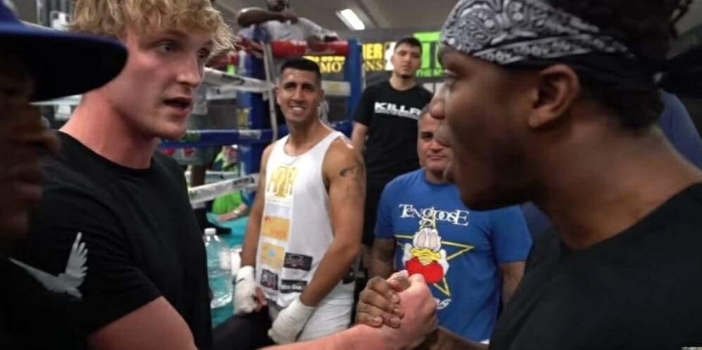 One of the biggest fights of the year is only months away Logan Paul vs KSI and Amanda Cerny and her boyfriend cant wait! Paul and KSI both huge