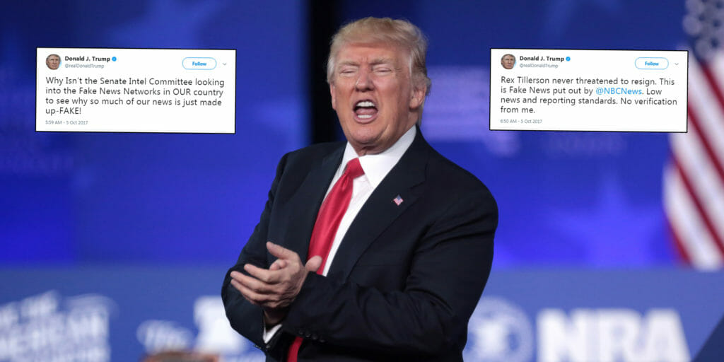 Donald Trump tweeted that Congress should investigate the media on Thursday morning.