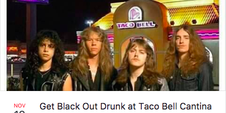 blackout drunk taco bell