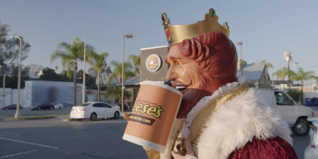 Burger King released a new ad supporting net neutrality on Wednesday using Whoppers to show customers what 'slow lanes' and 'fast lanes' would be like.