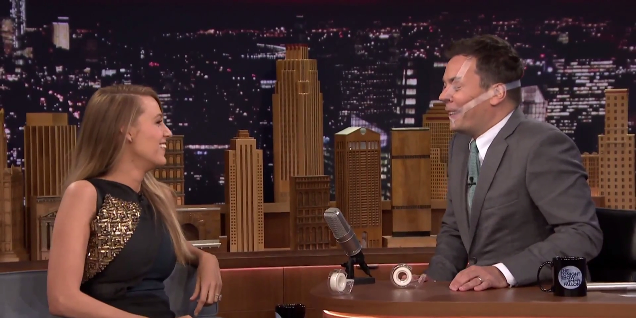 blake lively fallon say anything tape