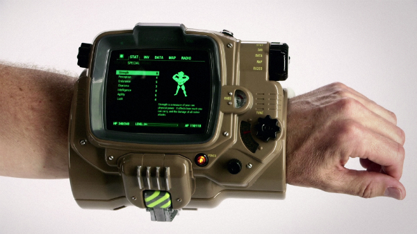 The real Pip Boy, on your real wrist.