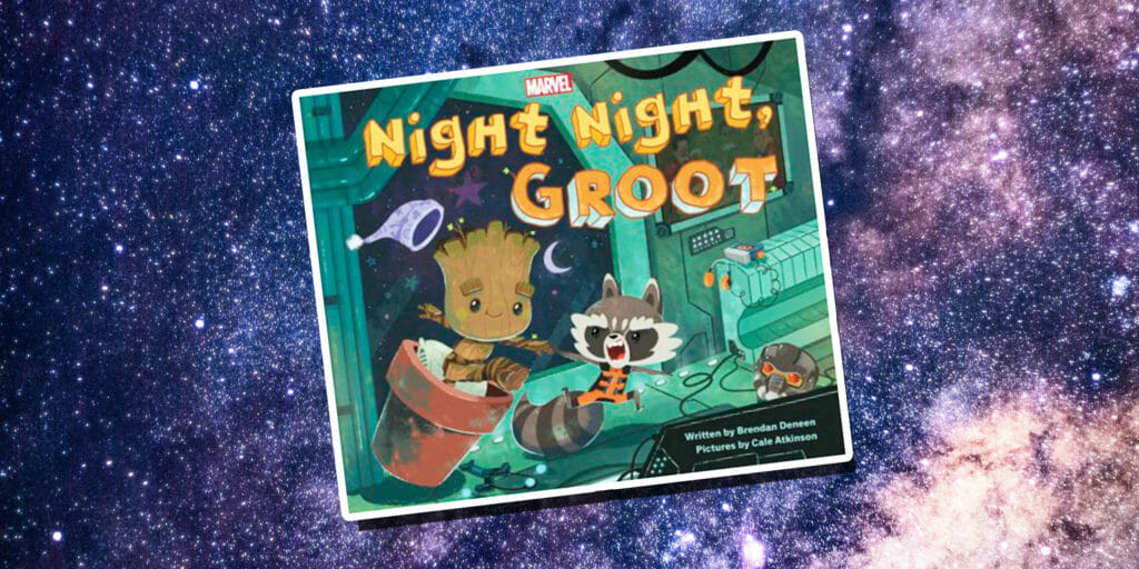 guardians of the galaxy bedtime story
