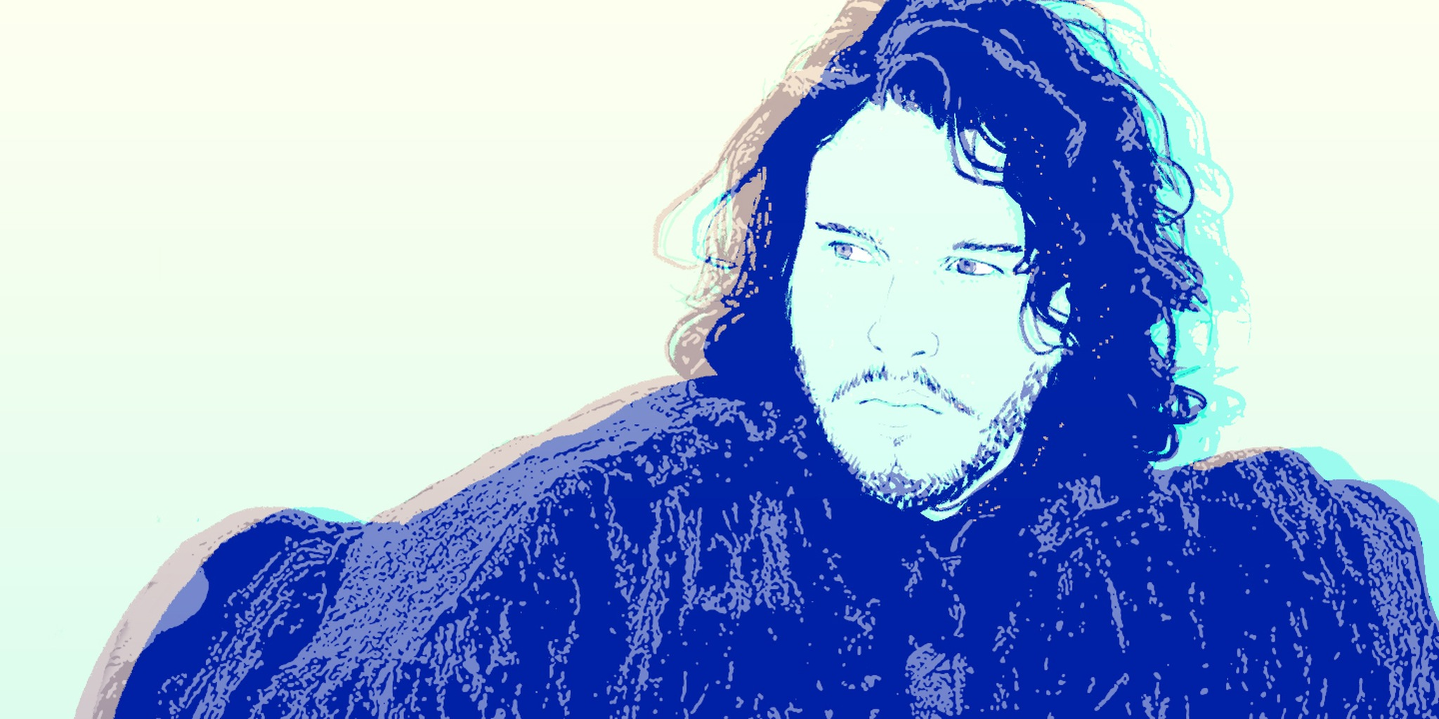 illustration of jon snow