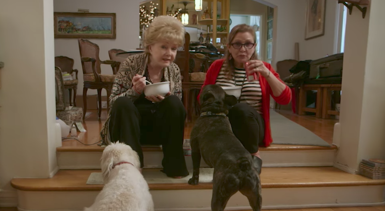 hbo documentaries : Bright Lights starring Carrie Fisher and Debbie Reynolds