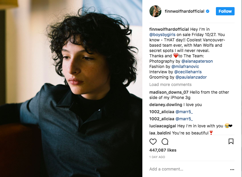 finn wolfhard stranger things
