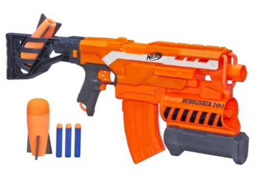 """I may analyze the """"muzzle velocity"""" of other guns in the future, but this  is the fastest Nerf gun we own."""