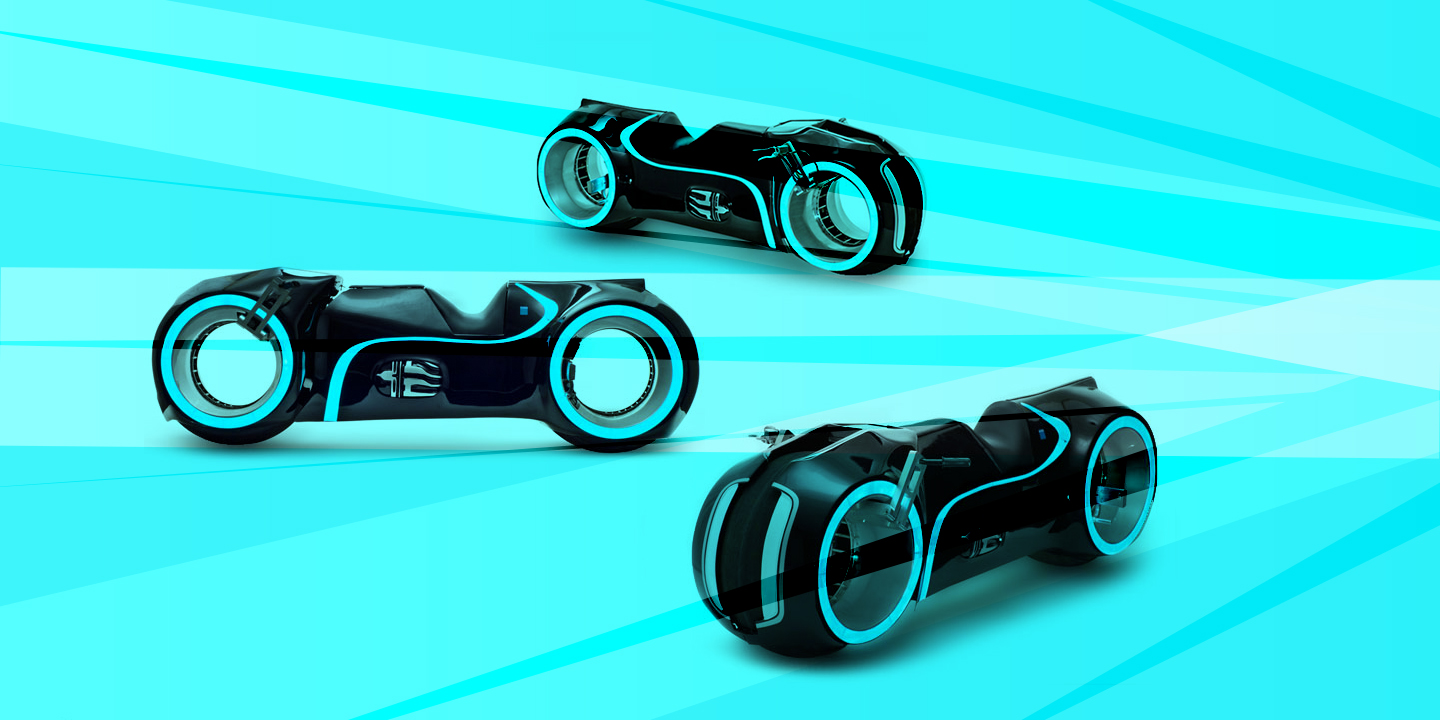 expensive tron motorcycle