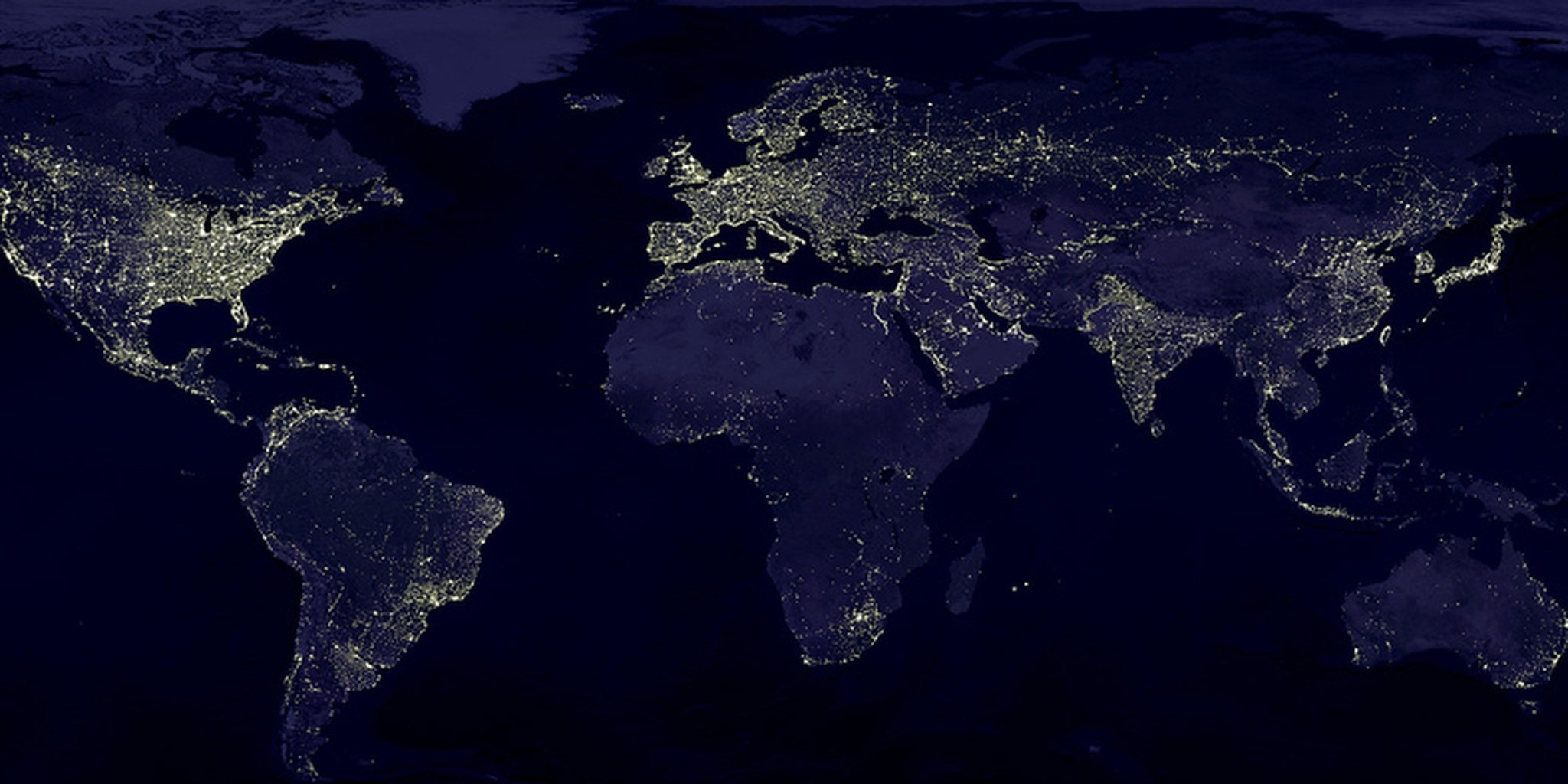 All sizes   Earth at Night   Flickr - Photo Sharing!