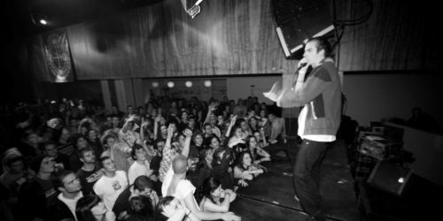 beatboxing on stage