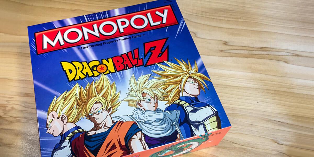 Dragon Ball Z Monopoly will make you go Super Saiyan on your