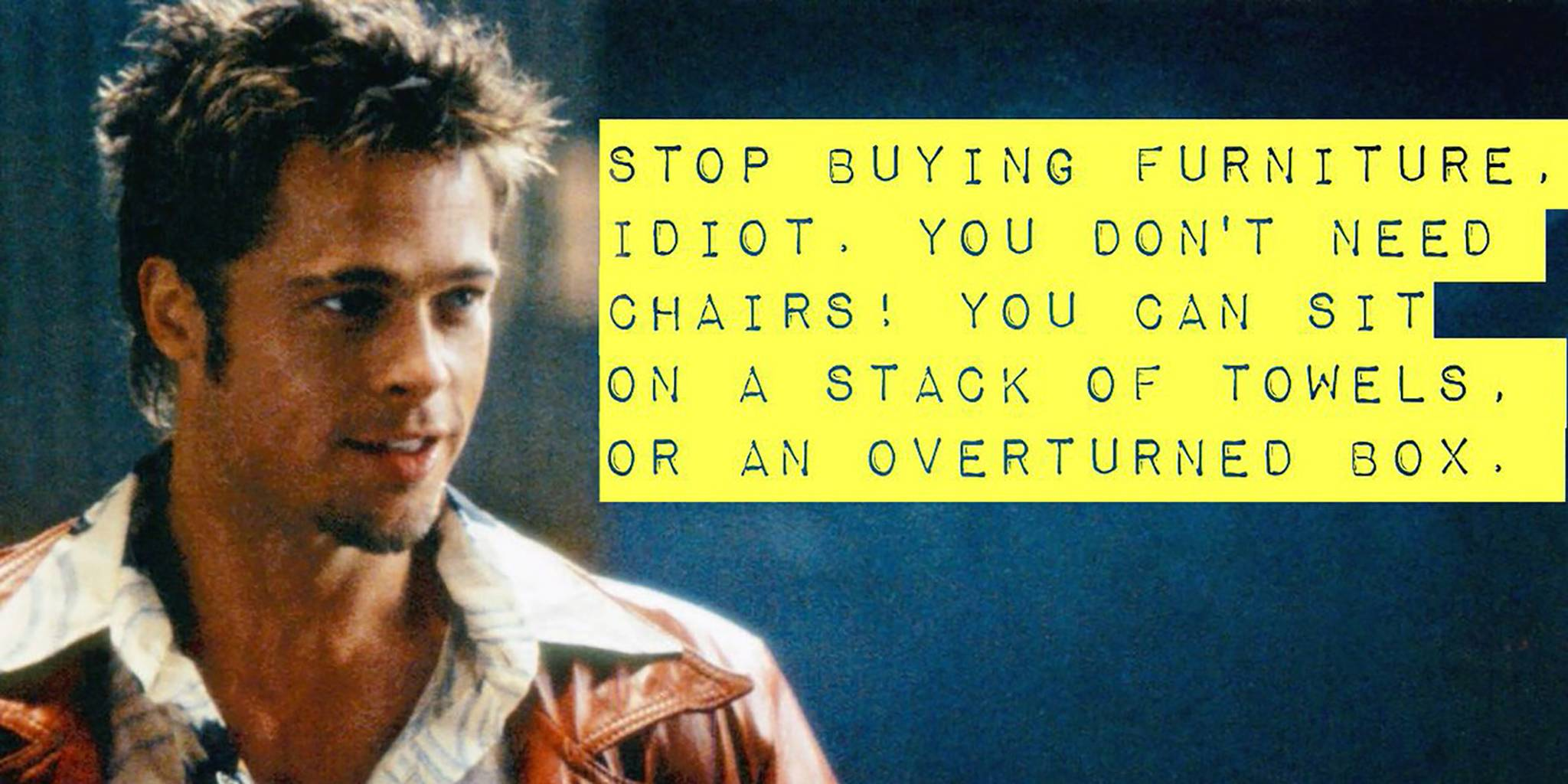 This 'Fight Club' Meme is Strong