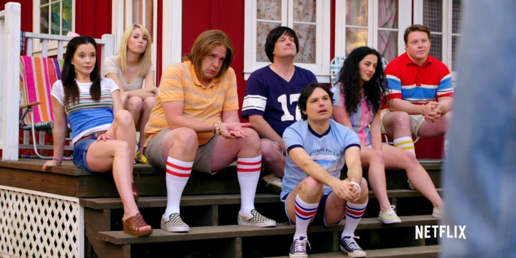 netflix original series: Wet Hot American Summer: First Day of Camp