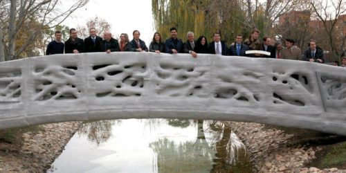 The world's first 3D-printed pedestrian bridge