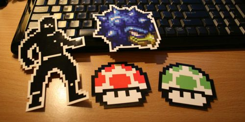 All sizes | Retro Videogame Stickers | Flickr - Photo Sharing!