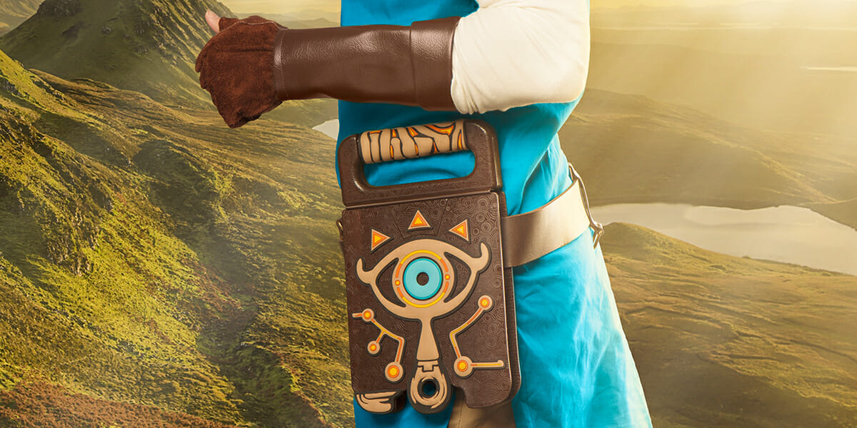 the sheikah slate notebook will take your wild breath away