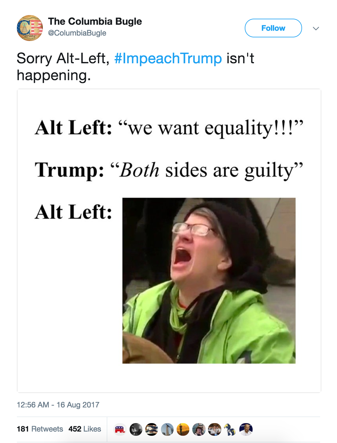what is alt-left