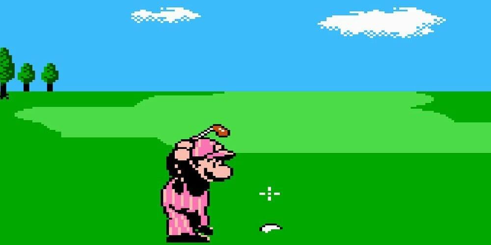 NES Golf on Nintendo Switch
