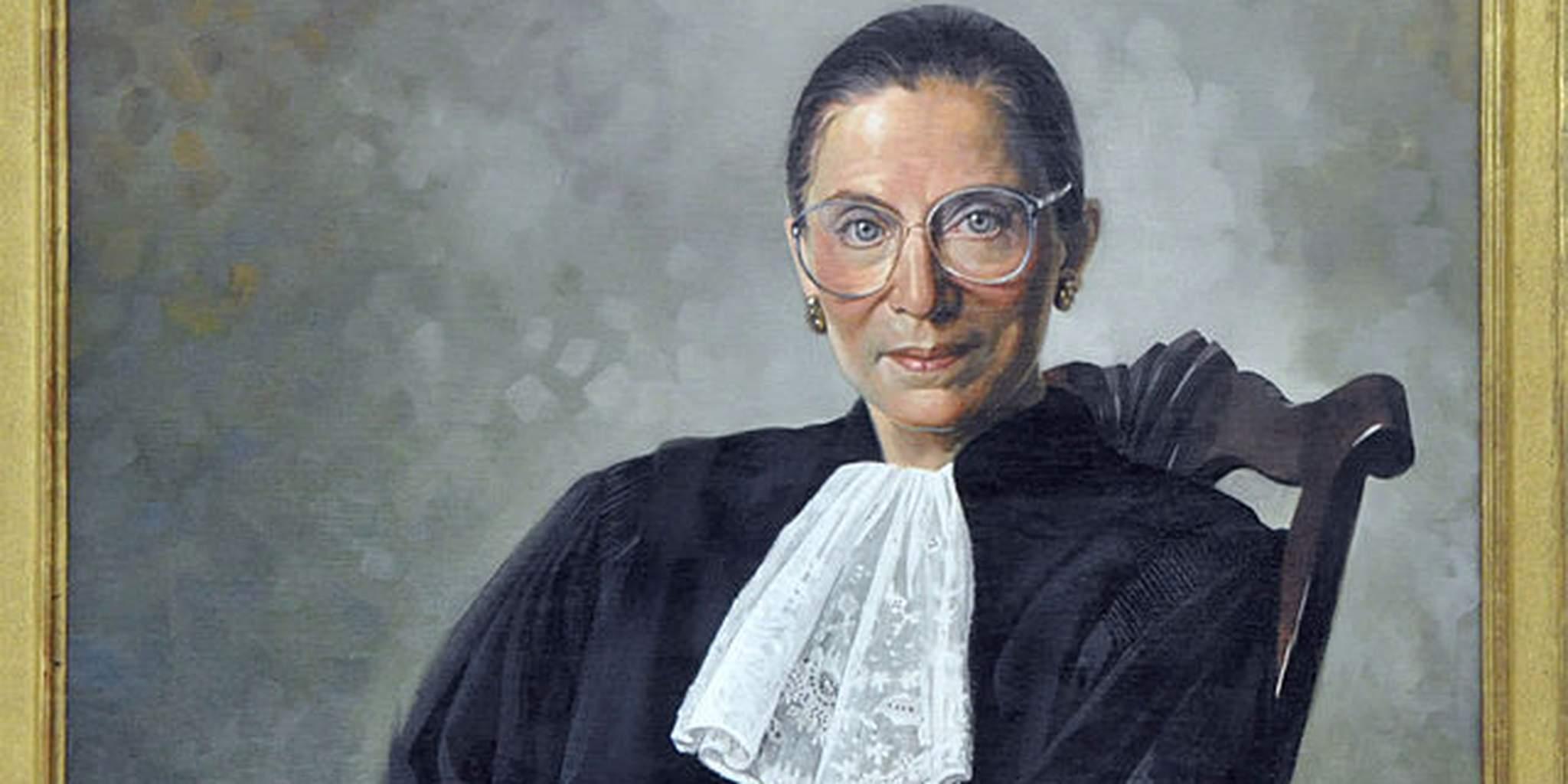 Ruth Bader Ginsberg portrait