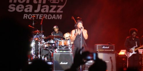 D'Angelo live at New Orleans Jazz Festival