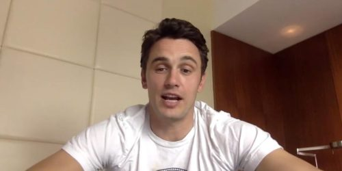 James Franco on Skype
