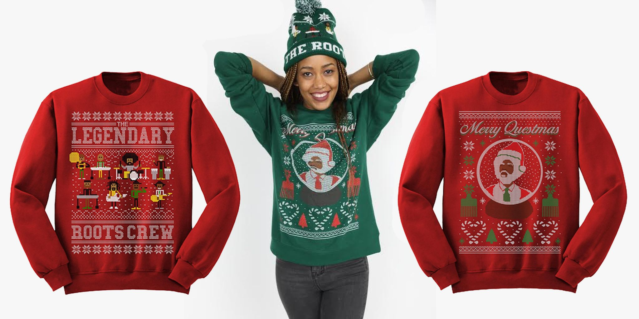 okayplayer holiday sweaters