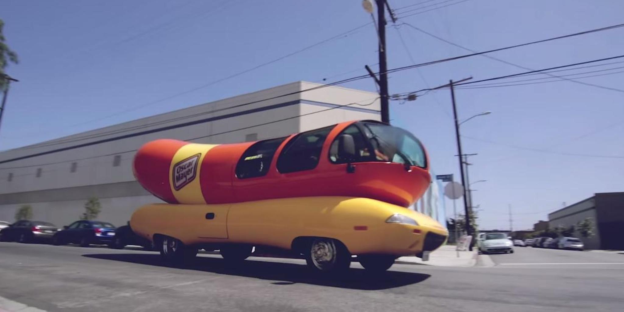 The Oscar Meyer Wienermobile